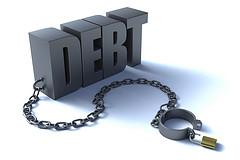 DEBT FREE SHACKLES