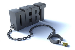 DEBT FREE SHACKLES